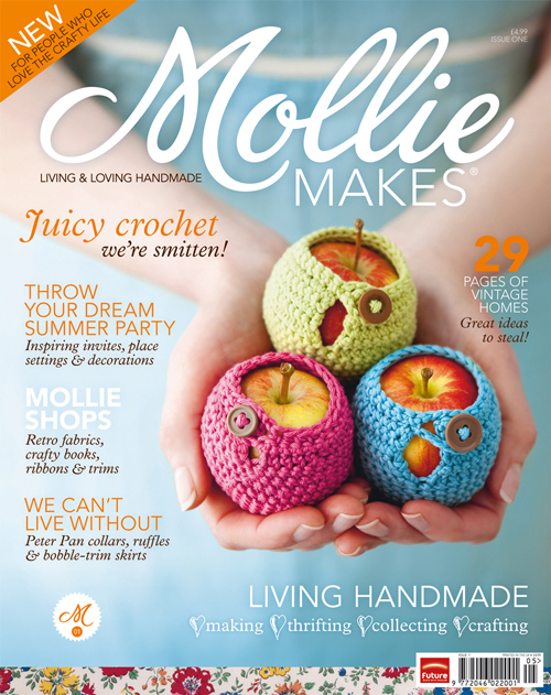 MollieMakesIssue1Cover
