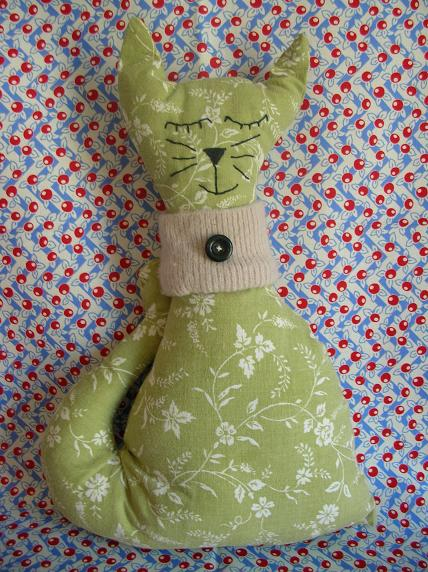 French_green_cat